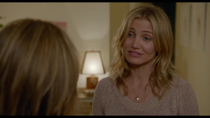 EXCLUSIVE CLIP: Shockers Cameron Diaz won't tell mom in Sex Tape
