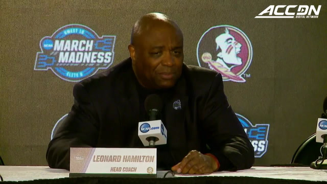 Florida State Heads To 3rd-Ever Elite 8: 'This Team Has Had Confidence All Year'