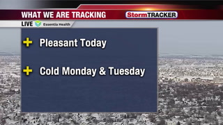 "Tracking a Breezy but ""Mild"" Afternoon"
