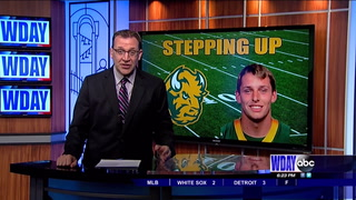 NDSU's Plank ready to step up