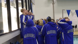 Warrior Girls Swimmers win over Melrose