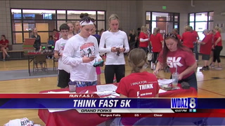 UND Nursing students hold event to raise awareness about strokes