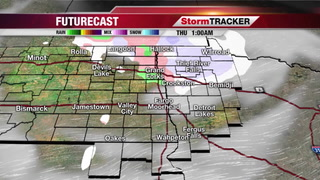 StormTRACKER Forecast Wednesday Night
