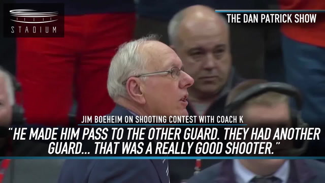 Who Would Win in a Shooting Contest: Jim Boeheim or Coach K?
