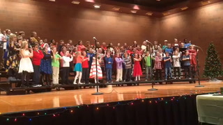 MAES fourth grade holiday concert