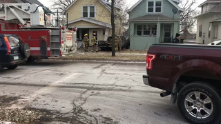 Truck crashes into house in West Duluth