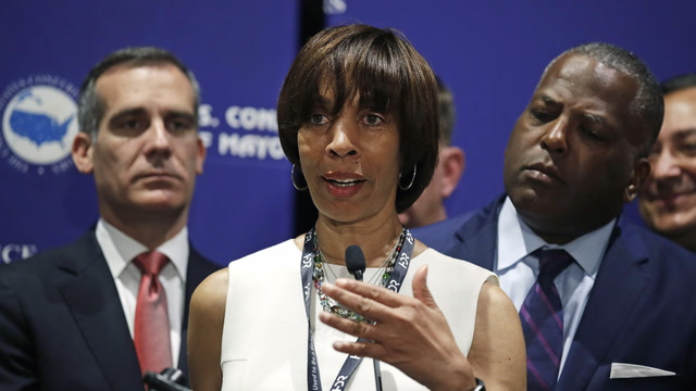 Baltimore mayor Catherine Pugh resigns