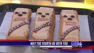 'May the Fourth' celebrated with donut characters