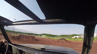 Riding in a monster truck with Jon Nowacki