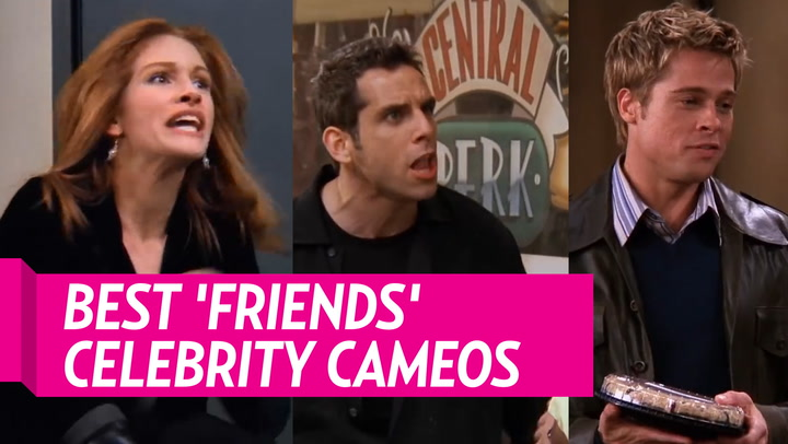 Brad Pitt Recalls Guest-Starring on 'Friends' Nearly 18 Years Ago: 'I Flubbed My First Line'