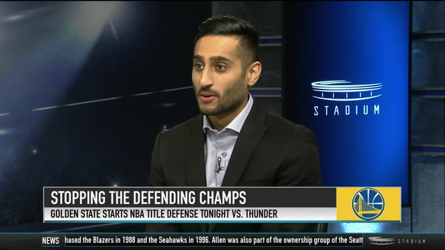 Shams Charania on the Keys to Stopping the Warriors This Season