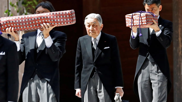 Japan's emperor is abdicating. Here's what you need to know.