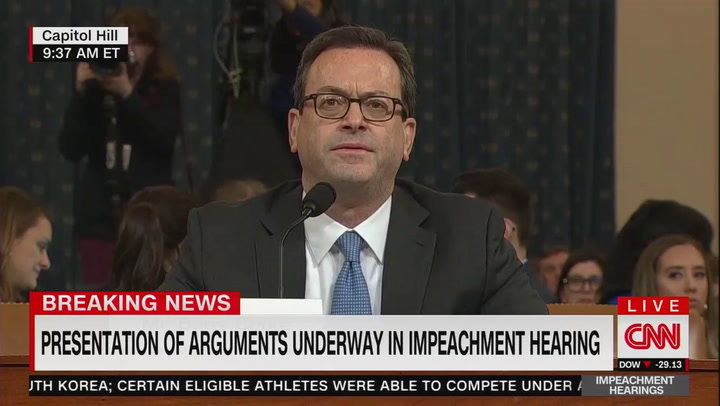 Watch: Democrats' Judiciary counsel lays out the constitutional case for impeachment