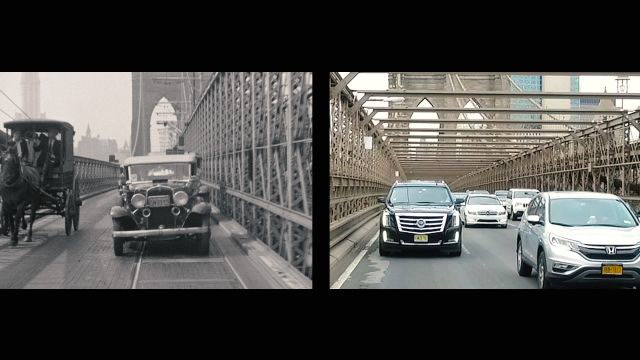 Eighty Years of New York City Bridges, Then and Now