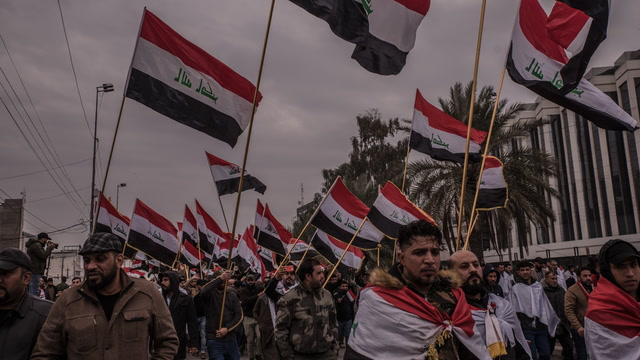 'I am staying here': Young Iraqi protesters fight for their country's future