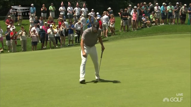 Jordan Spieth Tied for First Place at the Travelers Championship