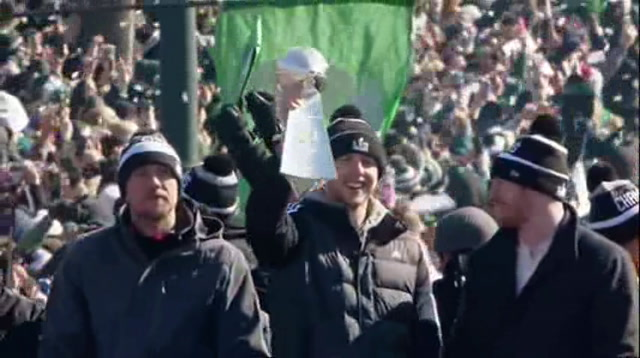 Philly Shuts Down For Eagles Parade
