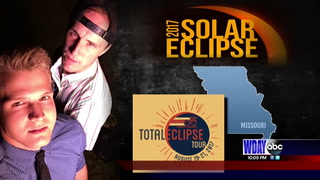 Fargo group that traveled to Missouri experiences the full eclipse