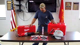 MFD's Anderson shows off new equipment