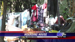 Homeowners frustrated with Grand Forks neighbor's hoarding
