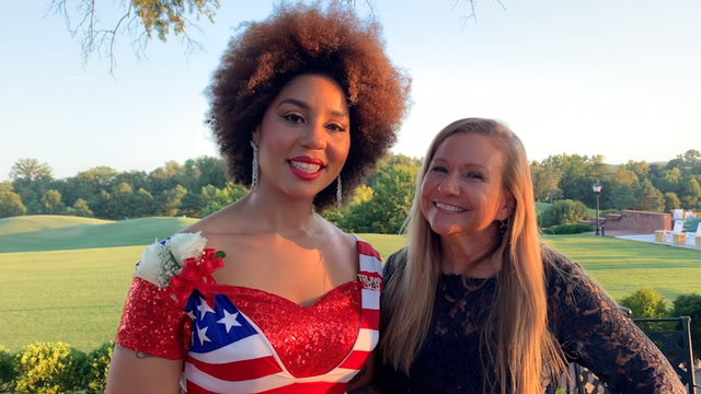 Conservative singer Joy Villa endorses Amanda Chase for Virginia Senate