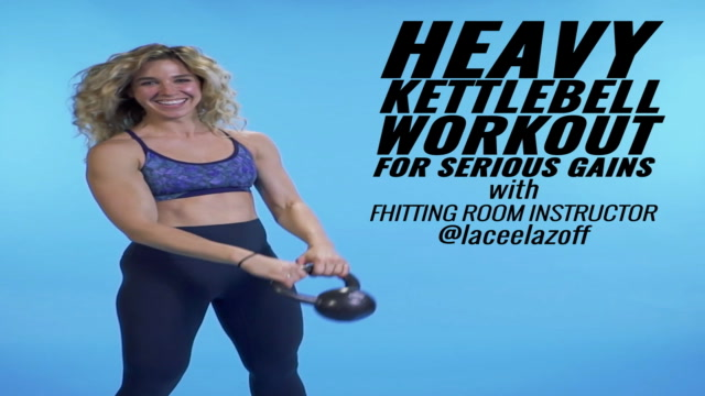 Heavy Kettlebell Workout for Serious Gains