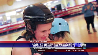 FM Derby Girls face off in St. Patricks day match up