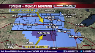 Tracking Frost Developing Tonight