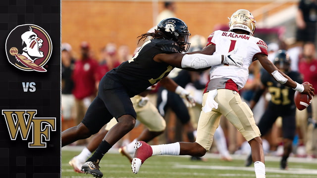Florida State vs. Wake Forest Football Highlights (2017)