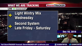 Tracking Wednesday Impacts