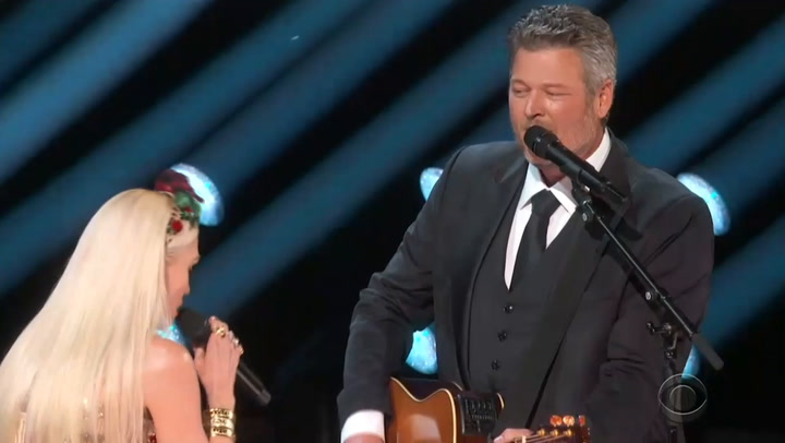 Gwen Stefani and Blake Shelton Perform Romantic New Song 'Nobody But You' at 2020 Grammys