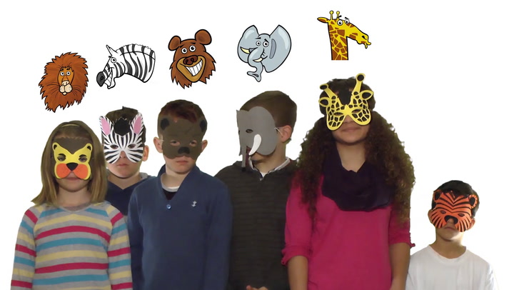 Sign in to access video: Animal masks
