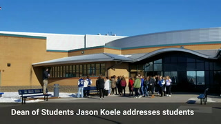 SCC students walk out