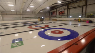 Quentin Way is taking 17 days off as the icemaker for the Denver Curling Club to command surface preparation and maintenance at the U.S. Curling Junior National Championships next week in Willmar. The 80 stones here are reserved for national events and were shipped from USCA headquarters in Stevens Point, Wisconsin. (RAND MIDDELTON   TRIBUNE)