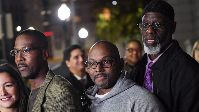 'It's unreal': Three Baltimore men exonerated after 36 years in prison