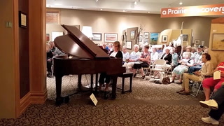 Piano dedication at the Stevens County Historical Museum