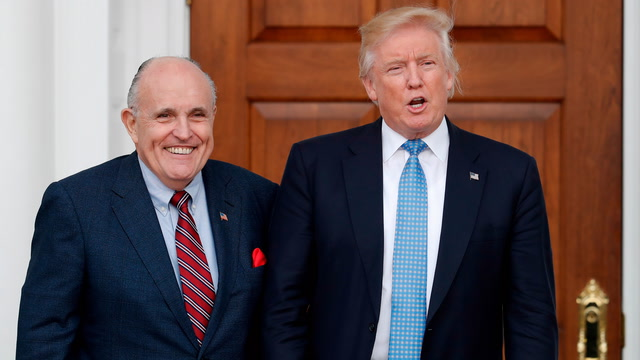 Giuliani's history of defending Trump