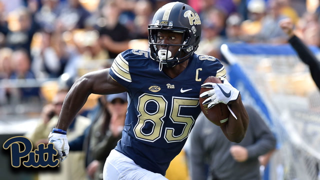 Pitt Deep-Ball Connection: Jester Weah 55-YD Touchdown vs. Rice