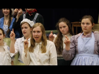 """Scenes from Hermantown High School's """"The Miracle Worker"""""""