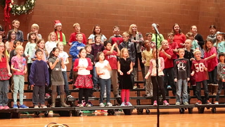 "MAES third graders perform ""Winter Wonderland"""