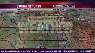 Tracking Ongoing Rain South & Thunderstorm Chances North
