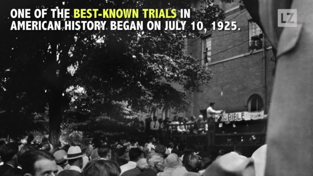 Evolution and the 'Monkey Trial' 92 Years Ago