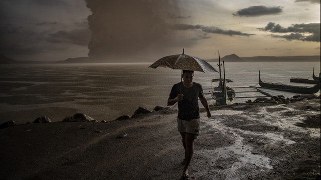 Taal volcano erupts, spewing lava and ash across the Philippines