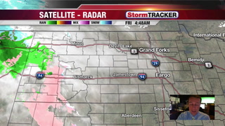 Heavy Snow for Parts of North Dakota Today