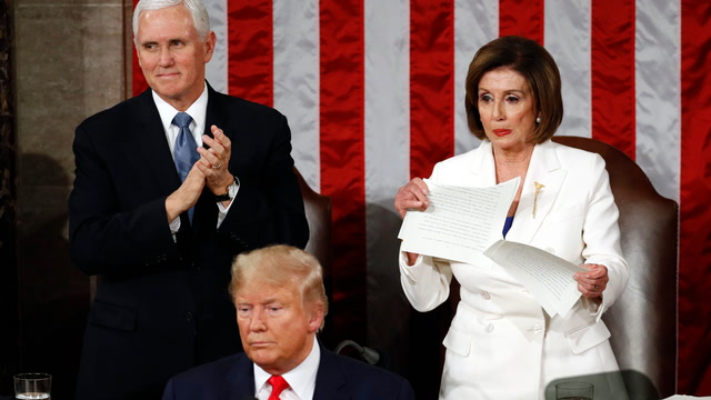 Opinion | Pelosi ripped up a speech. Trump is ripping up our democracy.