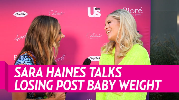 Sara Haines Says She Lost Her Baby Weight by 'Getting Steps' and Doing 'Toning Exercises'