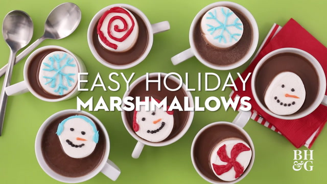 Easy Holiday Marshmallows