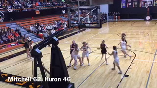 GBB: Mitchell defeats Huron at the Huron Arena