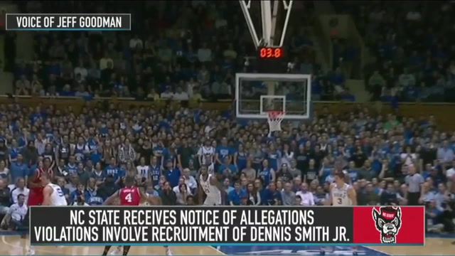 Jeff Goodman on North Carolina State Receiving a Notice of Allegations