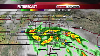 StormTRACKER Weather Update: Showers & T-Showers Today